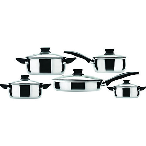 Fiesta Cookware Set - 5pcs
