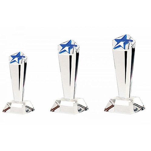 Star Shape Acrylic Trophy
