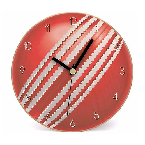 Cherry Red Wall Clock