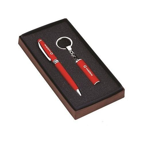 Essential Ballpen & Keyring Gift Set