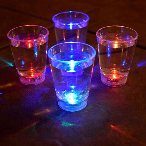 Shot Glass with LED Light