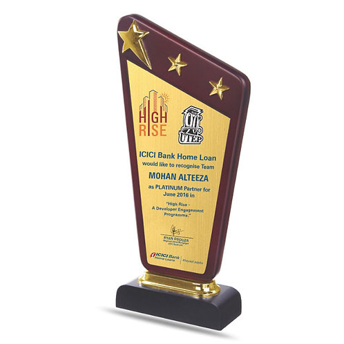 Wooden Sail Trophy