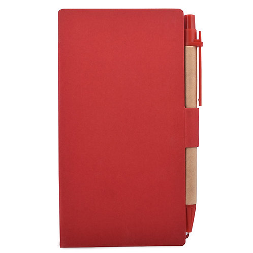 Eco Friendly Notepad With Pen - 1
