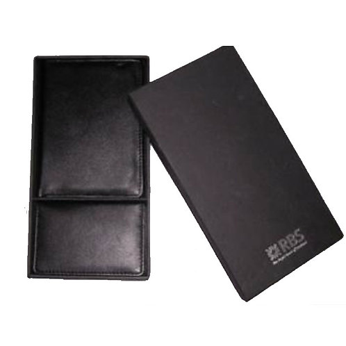 Passport Holder & Card Holder Leatherette Gift Set