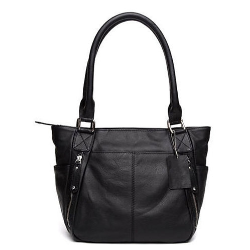 Leather Black Ladies Bag