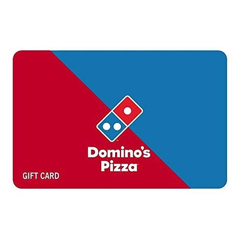 Dominos Gift Voucher