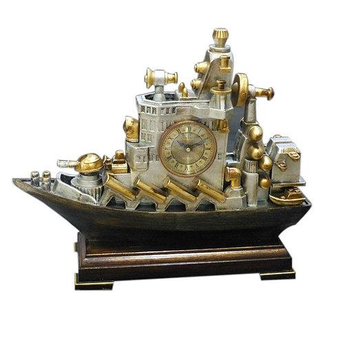 Resin Ship Clock