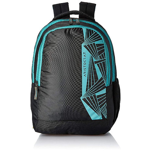 Aristocrat Black Casual Backpack