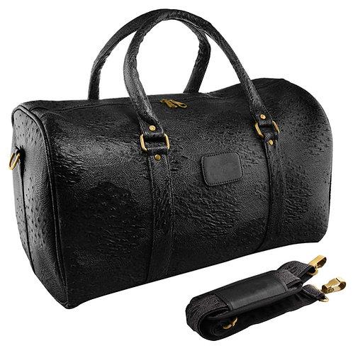 Vegan Unisex Leather Duffle Travel Bag