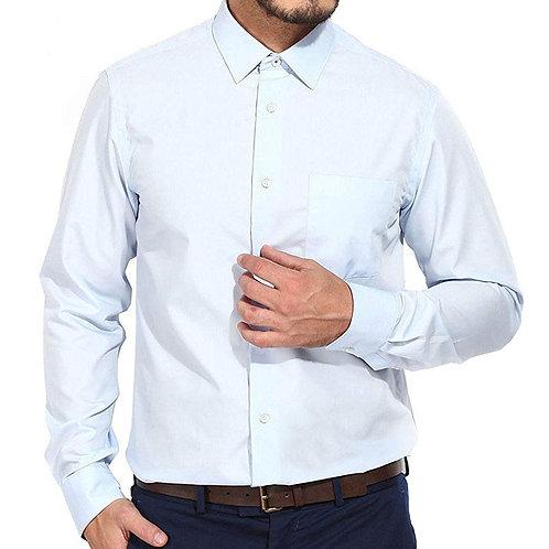 Blackberrys Men's Sky Blue Slim Fit Shirt
