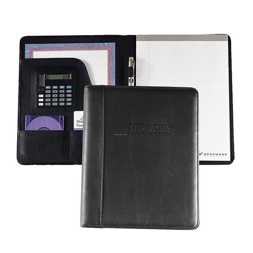Leather Folder with Notepad
