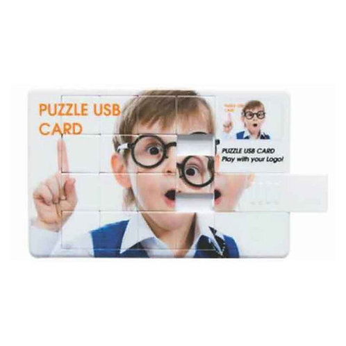 Puzzle Card Pen Drive