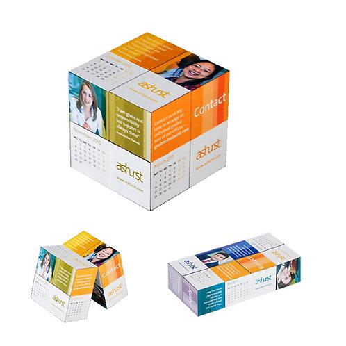 3D Magic Cube Calendars