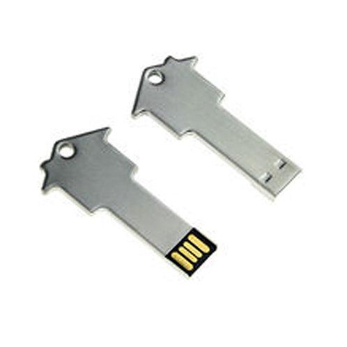 Key With House Shape Pen Drive