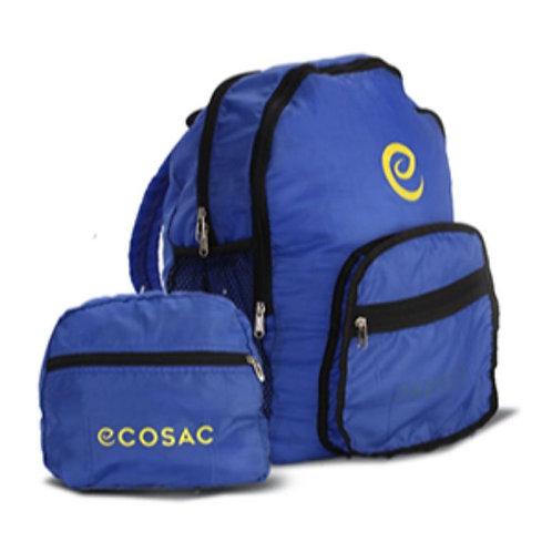 Double Zipper Foldable Backpack