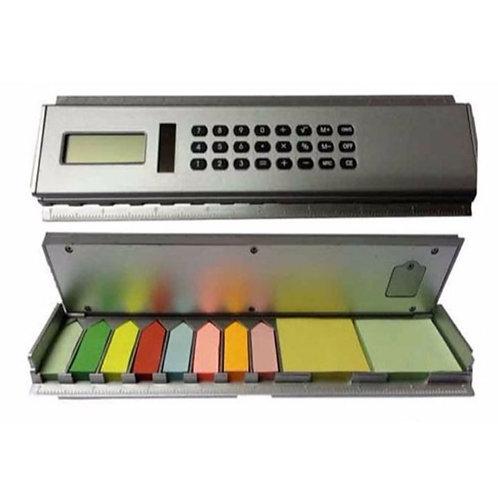 Calculator Scale Memo Pad