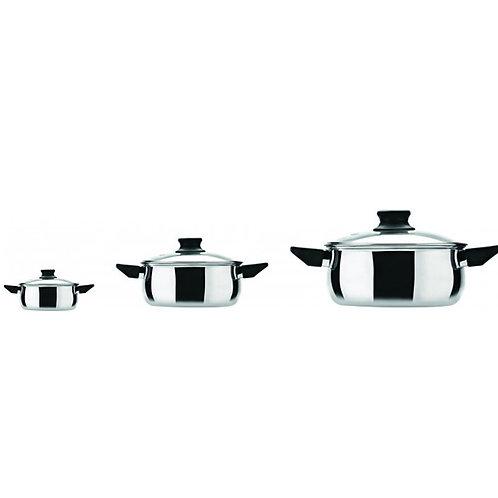 Fiesta Cookware Set - 3pcs