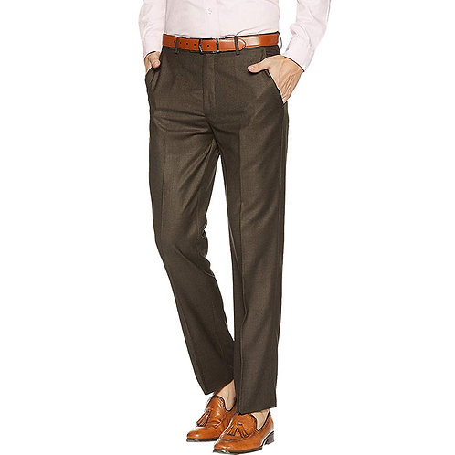 Louis Philippe Brown Trousers