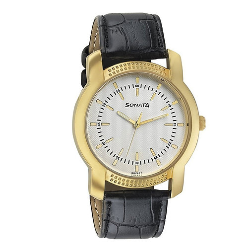 Sonata 7093YL01 Elite Analog Watch for Men