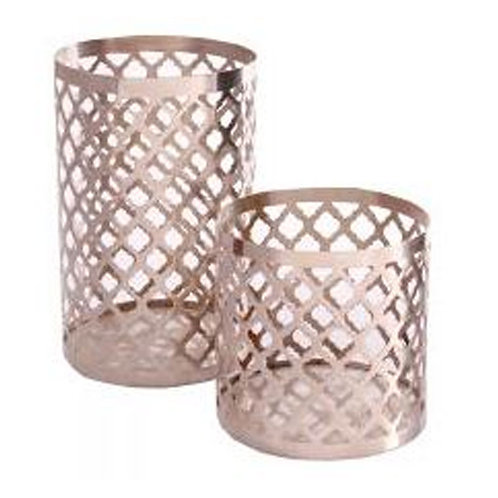 Copper Metal Candle Holder