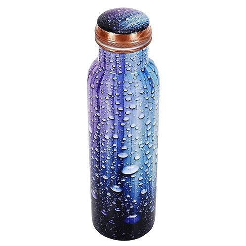 Elegant Butterfly Design Copper Bottle