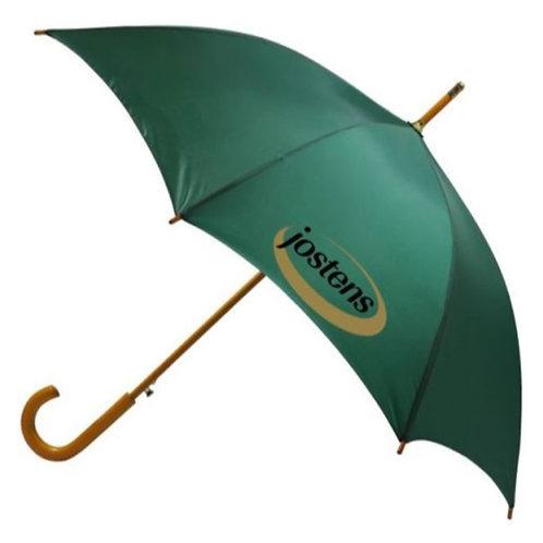 23 inch J Shape Wooden Handle Auto Open Umbrella