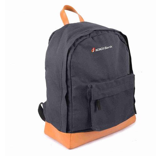 Canvas Laptop Bag - Blue