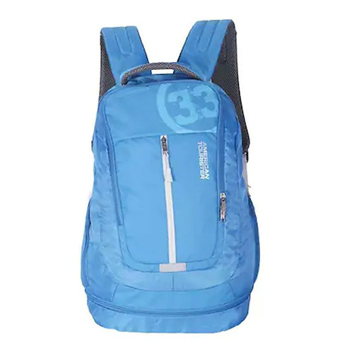 American Tourister Blue Polyester Backpack