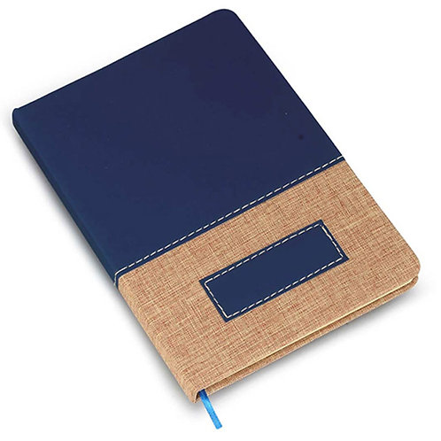 Brown Linen PU A5 Notebook