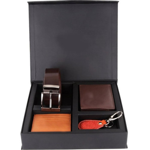 Brown Wallet Set