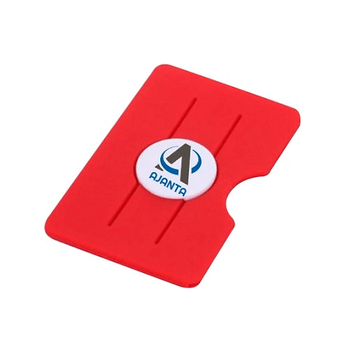 Silicon Mobile Wallet with Finger Slit