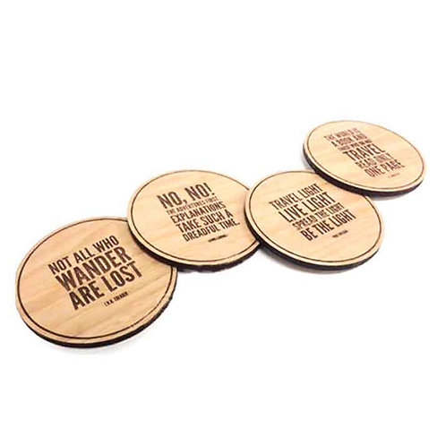 Wooden Promo Coasters