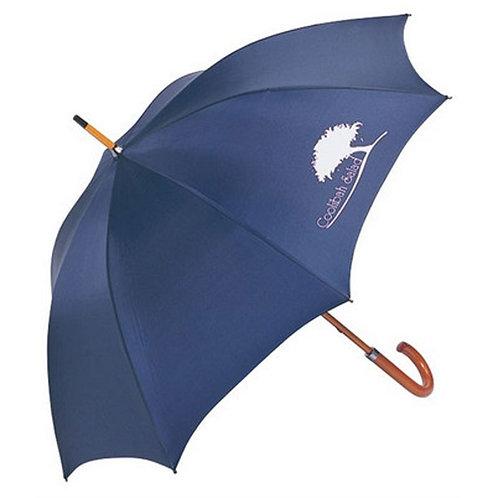 J Shape Umbrella Wooden Handle