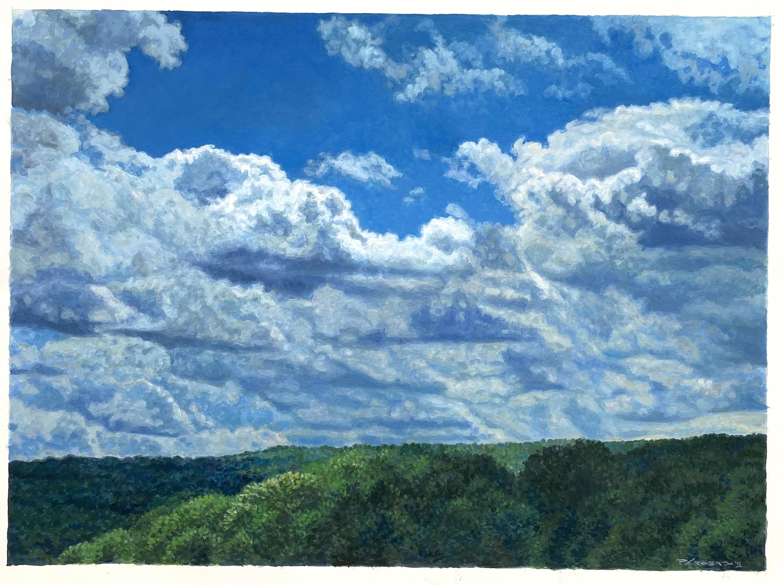 Blue Ridge Sky Study