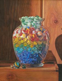 Vase O' Marbles