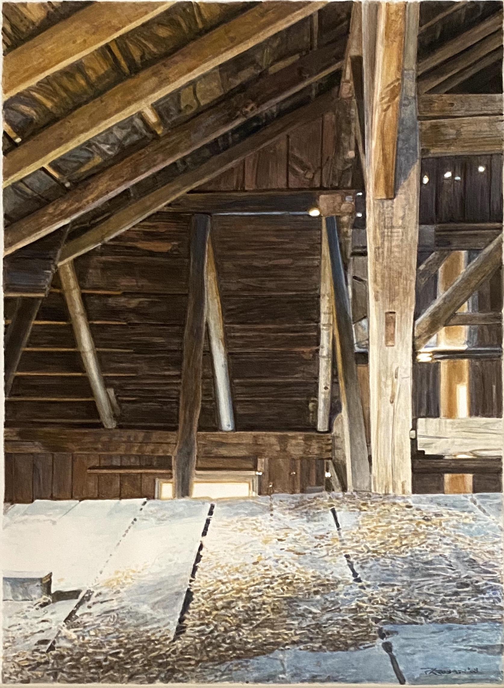 Inside Barn Loft