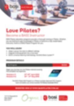 Basi Pilates Mat Program Organic Pilates