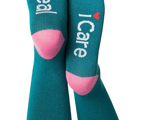 I Heal, I Care Compression Sock