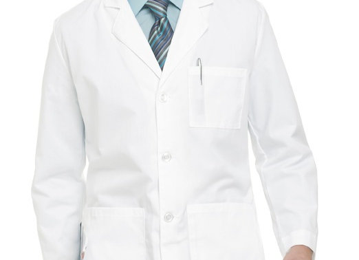 Landau Men's Lab Coat