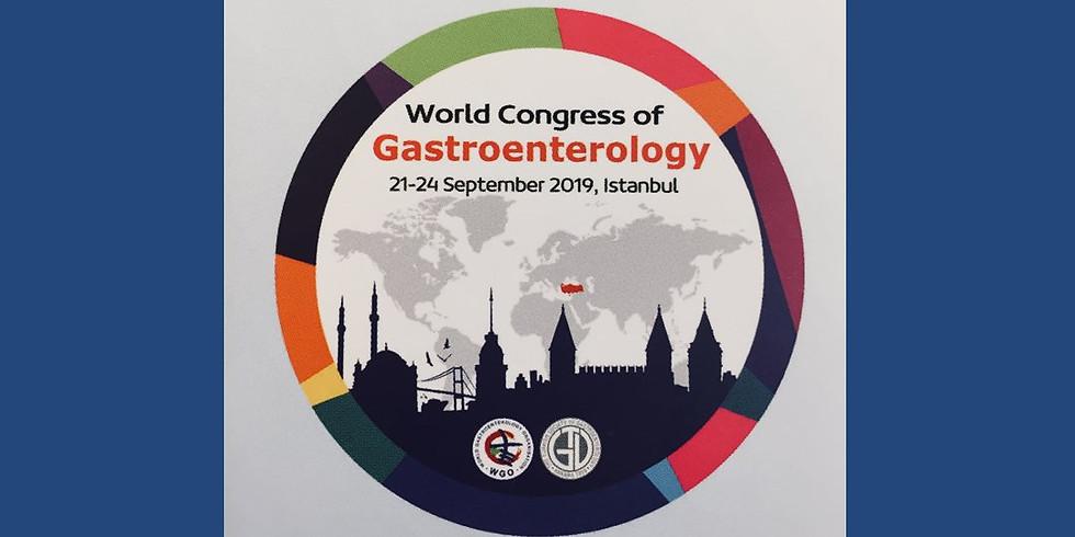 Всемирный конгресс гастроэнтерологов 2019
