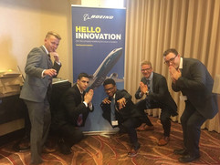 Member, Camron Durr at the BASE Program in St. Louis with Boeing!