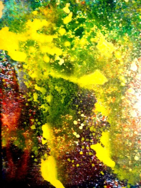 Series No. 1 - Bright Lights (Panel 17)