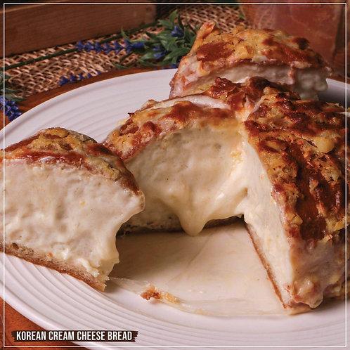 Korean Cream Cheese Bread