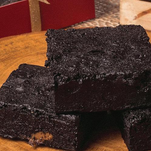 Dulce de Leche Blackout Brownies