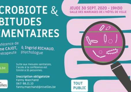 Conférence organisée par la Ville de Nivelles