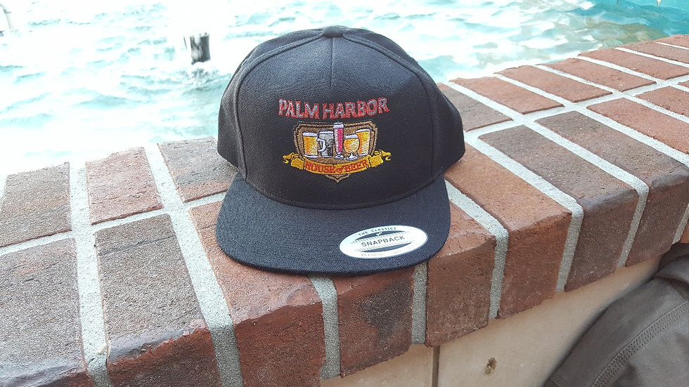 Full Color Palm Harbor HOB Logo on a Fitted Hat