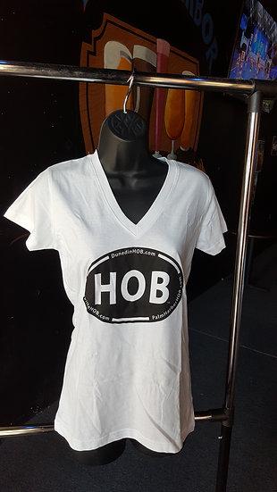 Women's Gildan V-Neck T-Shirts