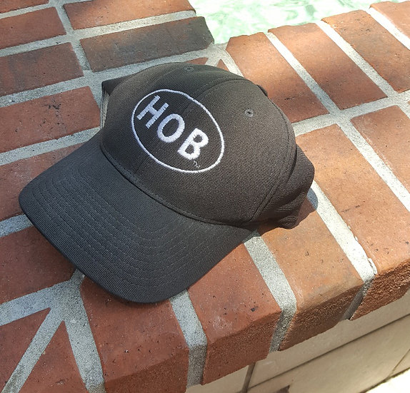 Flex-Fit Hat with HOB One Color Logo