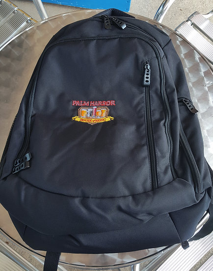 CANVAS BACKPACK WITH EMBROIDER LOGO