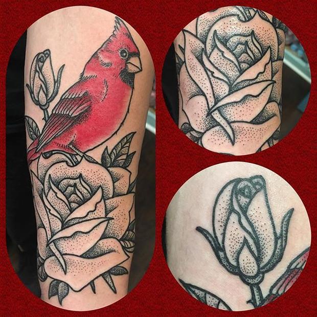 Cardinal Tattoo